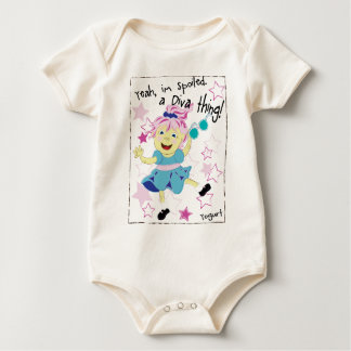 Little Snacker  Yogurt Baby Bodysuit