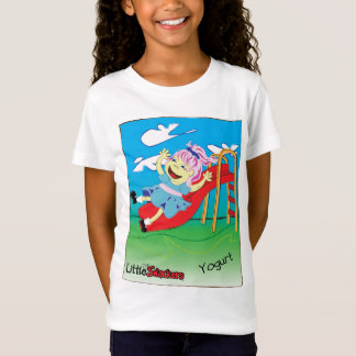 Little Snacker Yogurt Kids tshirt