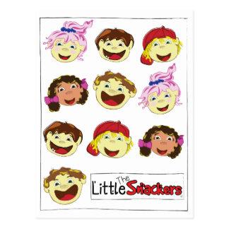 Little Snackers Postcard