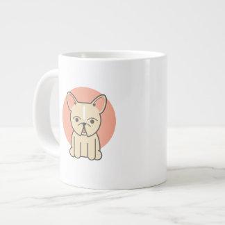 Little Snortles, Cream Giant Coffee Mug