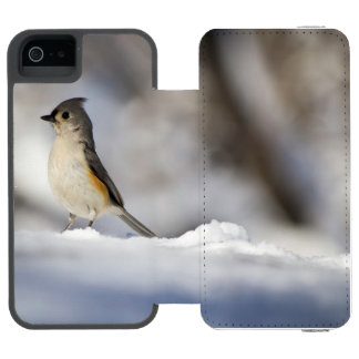 Little Snow Bird iPhone SE/5/5s Wallet Case