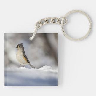 Little Snow Bird Keychain