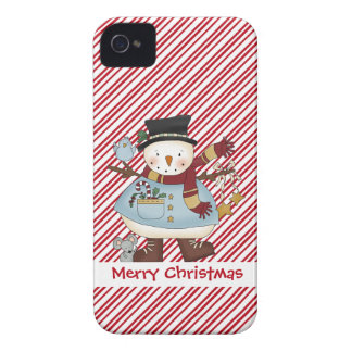 Little Snow Guys Snowman iPhone 4 4S iPhone 4 Cover