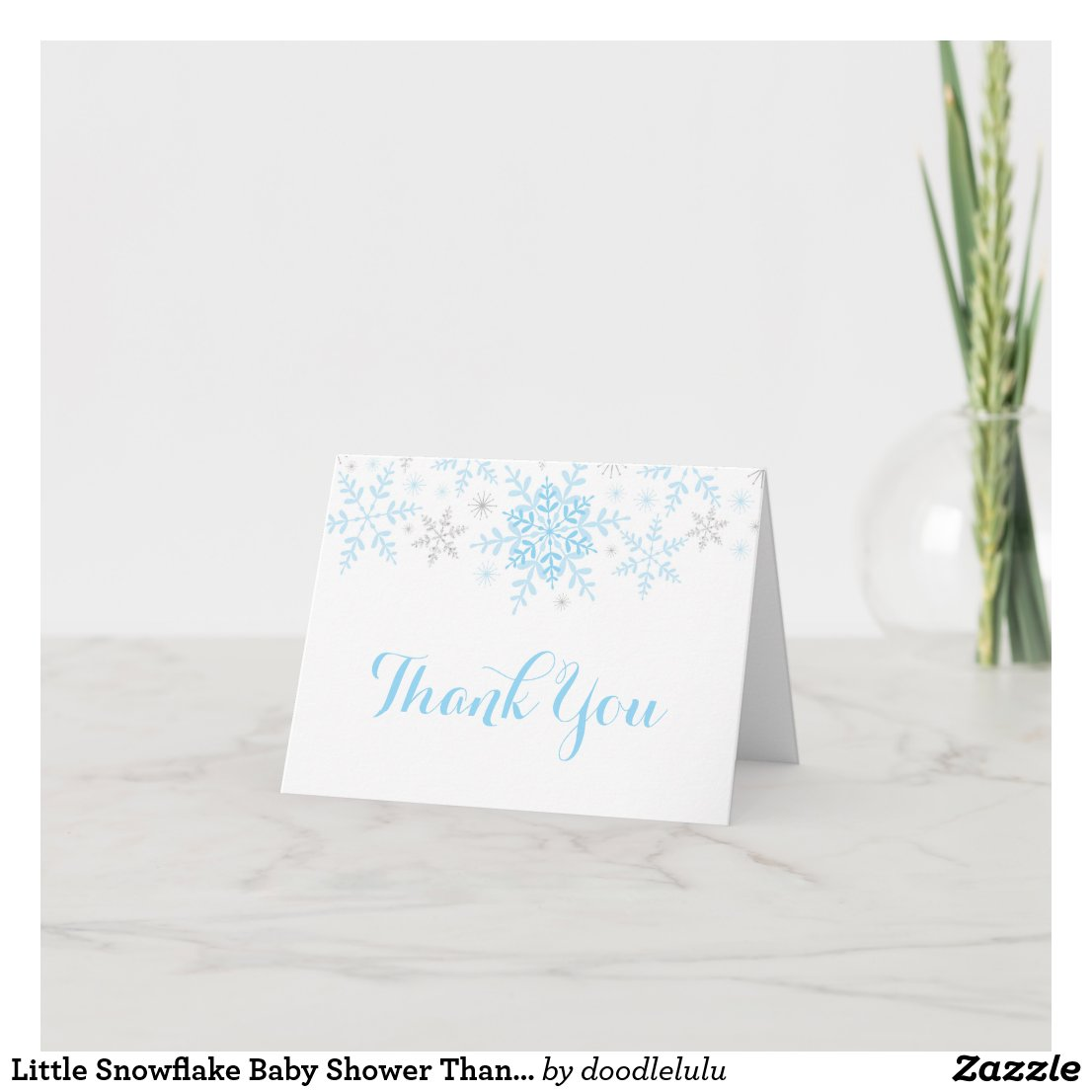 Little Snowflake Baby Shower Thank You�