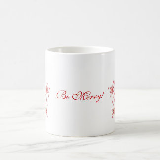 Little Snowflakes in Red Mugs