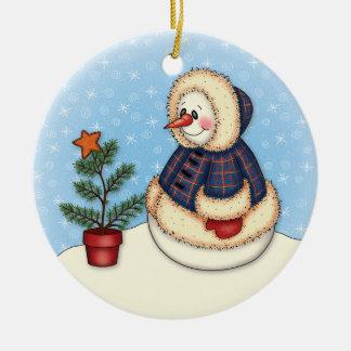 """""""Little Snowgirl"""" Ornament"""
