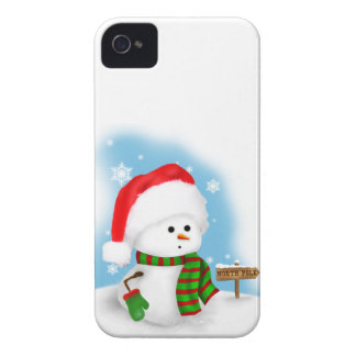 Little Snowman Barely There™ iPhone 4 Case