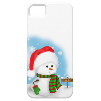 Little Snowman Barely There™ iPhone 5 Case