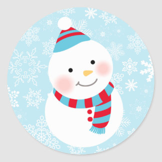 Little Snowman Design | Winter Sticker