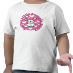Little Snuggle Bunny de tía Camiseta