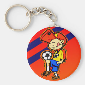 Little Soccer Player Key Chains