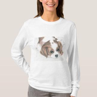 little spaniel dog ladies sweatshirt