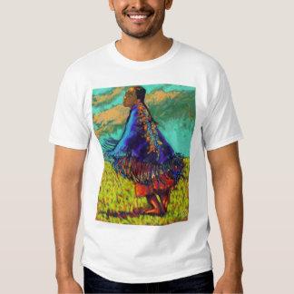 little spirit eagle in flight  t shirt
