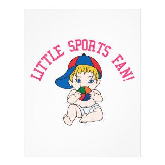 Little Sports Fan! Letterhead