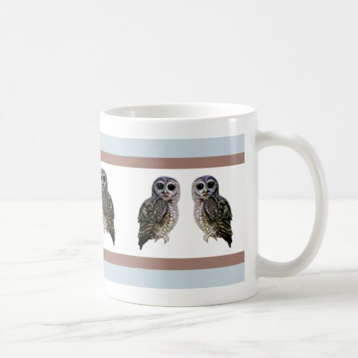 Little Spotted Owls Mugs