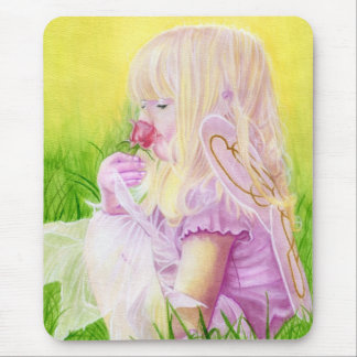 Little Spring Fairy Rose Mousepad