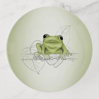 Little Spring Peeper Frog Trinket Trays