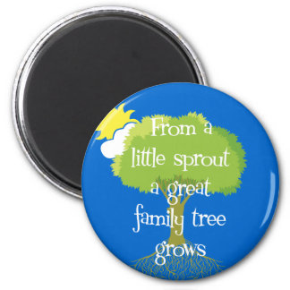Little Sprout 2 Inch Round Magnet