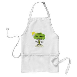 Little Sprout Adult Apron