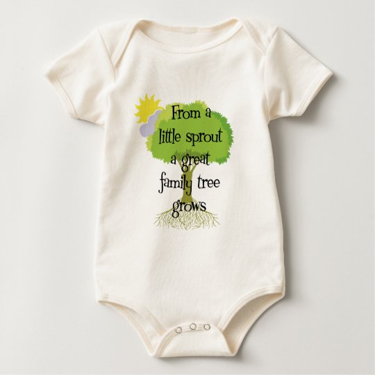 Little Sprout Baby Bodysuit