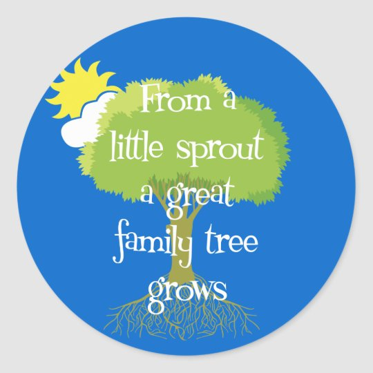 Little Sprout Classic Round Sticker