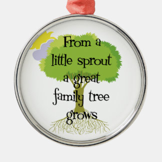 Little Sprout Genealogy Ornament