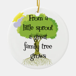 Little Sprout Genealogy Ornament