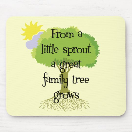Little Sprout Mouse Pad