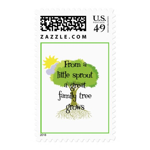 Little Sprout Postage Stamp