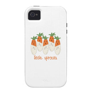 Little Sprouts Vibe iPhone 4 Cases