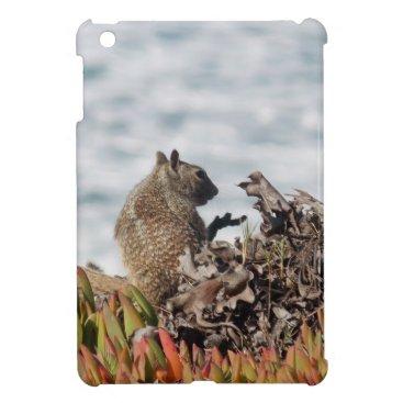 Beach Themed Little squirrel iPad mini cover