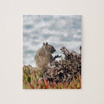 Beach Themed Little squirrel jigsaw puzzle