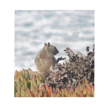 Beach Themed Little squirrel notepad