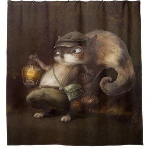 Little Squirrel Shower Curtain