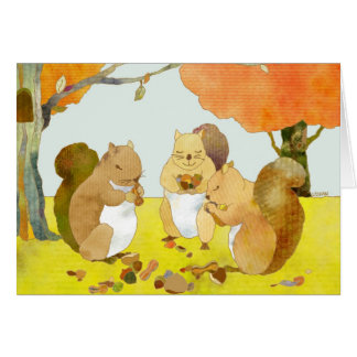 Little Squirrels Card