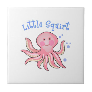 LITTLE SQUIRT SMALL SQUARE TILE