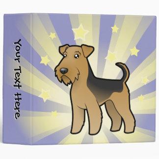 Little Star Airedale Terrier / Welsh Terrier 3 Ring Binder