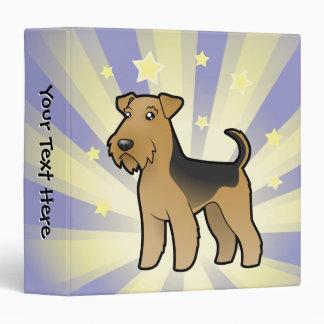 Little Star Airedale Terrier / Welsh Terrier Binder