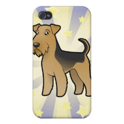 Little Star Airedale Terrier / Welsh Terrier iPhone 4/4S Cover
