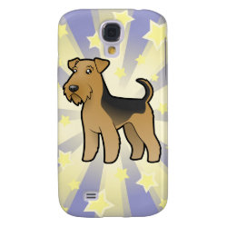Little Star Airedale Terrier / Welsh Terrier Samsung Galaxy S4 Cover