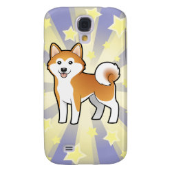 Case-Mate Barely There Samsung Galaxy S4 Case with Akita Phone Cases design