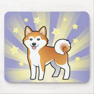Little Star Akita Inu / Shiba Inu Mousepad