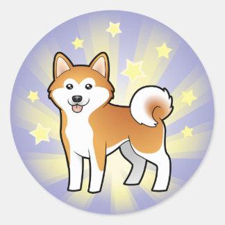 Little Star Akita Inu / Shiba Inu Sticker