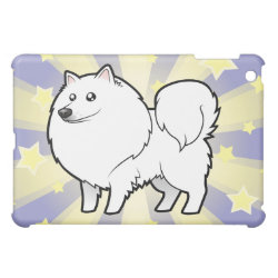 Little Star American Eskimo Dog / German Spitz Case For The iPad Mini