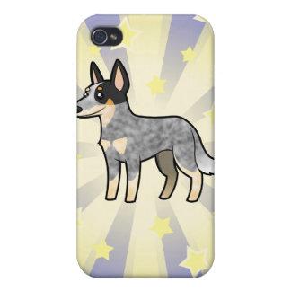 Little Star Australian Cattle Dog / Kelpie Covers For iPhone 4