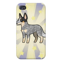 Little Star Australian Cattle Dog / Kelpie iPhone 4 Cover
