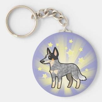 Little Star Australian Cattle Dog / Kelpie Keychain