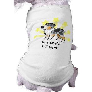 Little Star Australian Shepherd T-Shirt