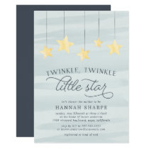 Little Star Baby Shower Invitation | Mint