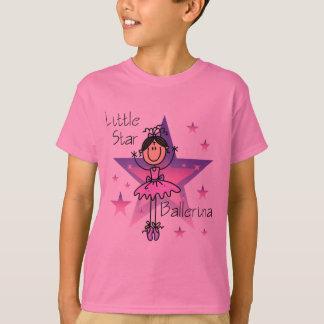 Little Star Ballerina - Brown Hair T-Shirt